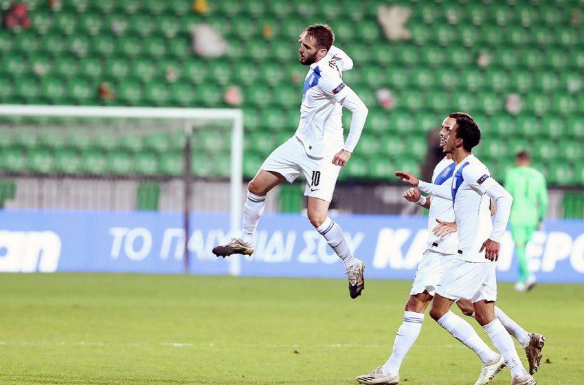 Nations League: Εύκολα η Ελλάδα πέρασε από τη Μολδαβία με 2-0
