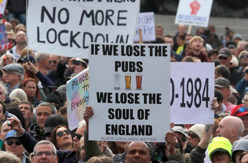 Βρετανία-Κοροναϊός: 15.871 τα νέα κρούσματα, 479 οι θάνατοι