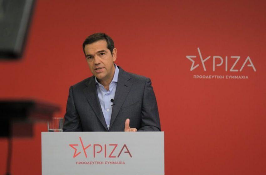 "Tσίπρας: ""Η μεσαία τάξη είναι το πρώτο μεγάλο θύμα της κυβέρνησης στην οικονομία"""