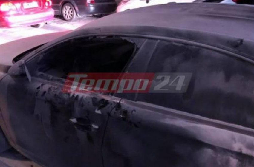 Πάτρα: Πέταξαν μολότοφ στο αυτοκίνητο του Φωτήλα