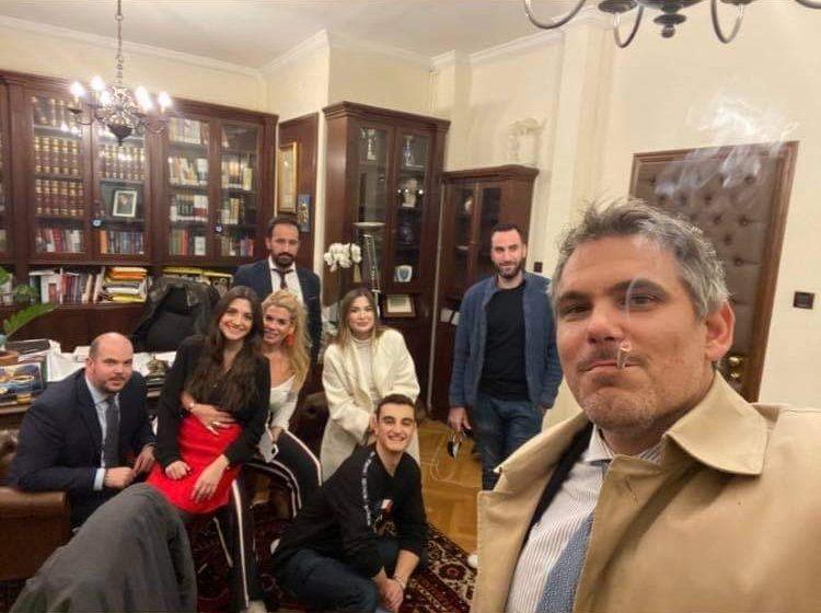 Εισαγγελική παρέμβαση για το πάρτι του προέδρου του ΔΣΑ, Δημήτρη Βερβεσού