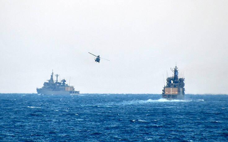 """Στο κόκκινο η επιχειρησιακή ετοιμότητα Ναυτικού και Αεροπορίας – Εντυπωσιακές εικόνες από την άσκηση """"Νηρηίς 2020"""""""