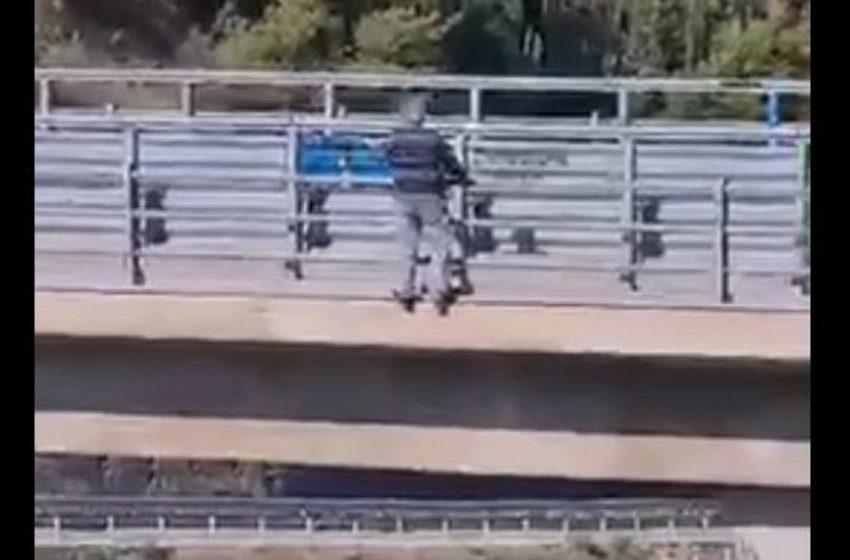 Σοκάρει το βίντεο με την αυτοκτονία του 70χρονου στο Αίγιο (vid)