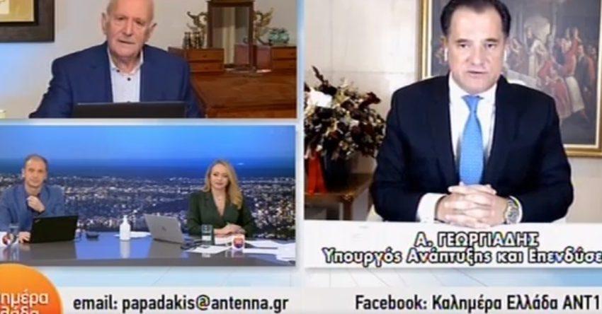 Επιμένει ο Α. Γεωργιάδης με τους θανάτους: Ε τι είπα και πέσατε να με φάτε; (vid)