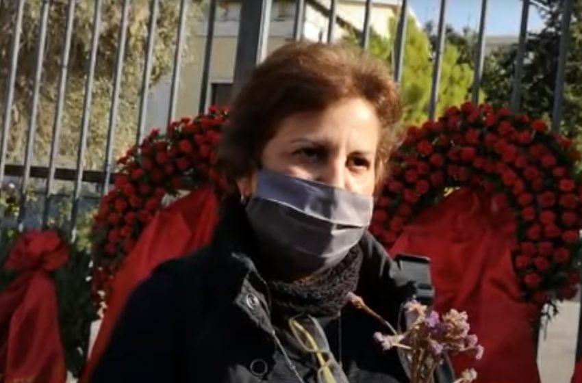 Τηλεφωνική επικοινωνία του Αλ. Τσίπρα με την γυναίκα που πήρε πρόστιμο για το λουλούδι στο Πολυτεχνείο