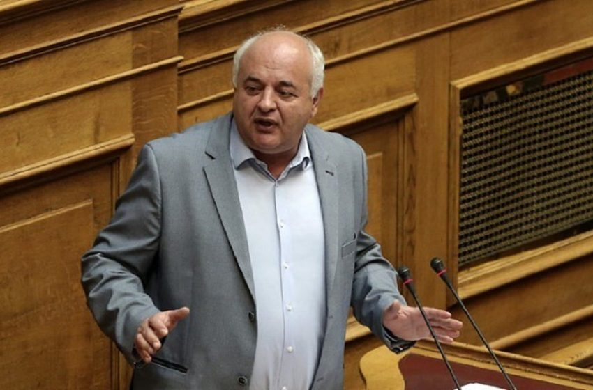 """Έκρηξη Καραθανασόπουλου στη Βουλή: """"Η πολιτική μ@@@@@α και η ανοησία έχουν τα όριά τους"""""""