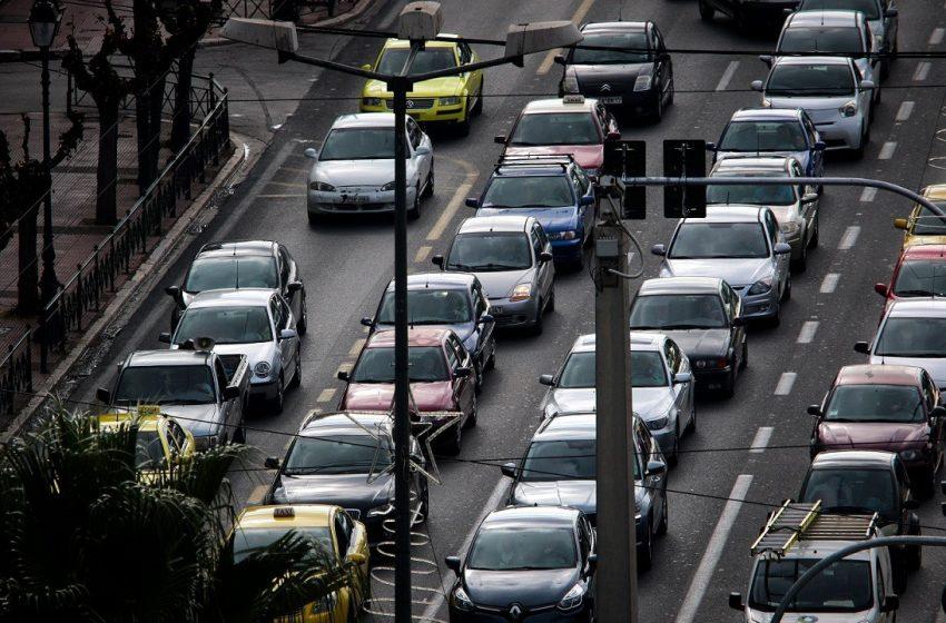 Μποτιλιάρισμα στο κέντρο της Αθήνας – Kυκλοφοριακές ρυθμίσεις και για το Ράλι Ακρόπολις