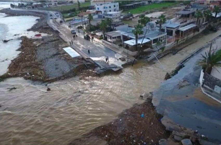 Κρήτη πλημμύρες: Μια εβδομάδα χωρίς νερό, φάρμακα και τροφή ηλικιωμένο ζευγάρι κτηνοτρόφων (vid)