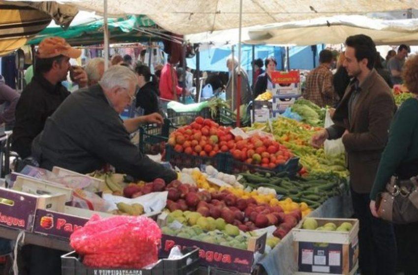 Νέα μέτρα για τις λαϊκές αγορές – Τι θα ισχύει για κάθε πάγκο