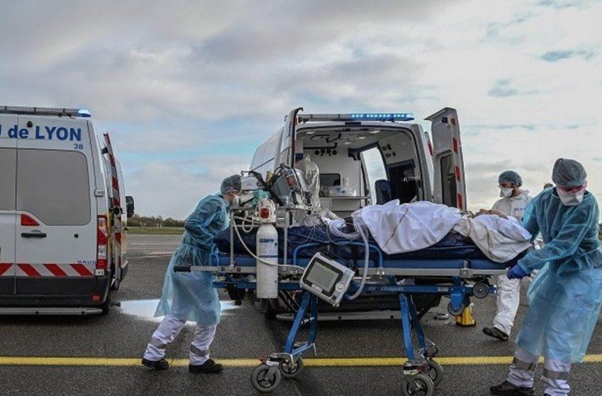 Γαλλία: Στα νοσοκομεία της χώρας  νοσηλεύονται 34.000 ασθενείς