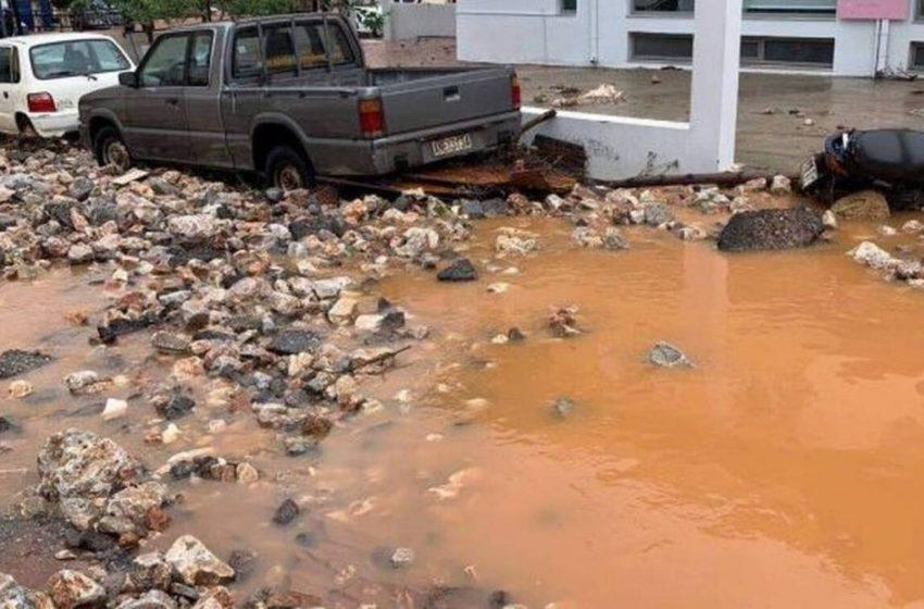 Λέκκας : «Η βροχή ενός έτους έπεσε σε λιγότερο από ένα 24ωρο στην Κρήτη»
