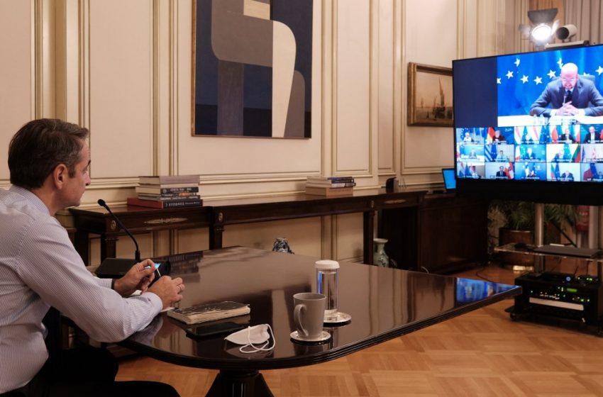 Μέσω τηλεδιάσκεψης η παρουσίαση του σχεδίου Πισσαρίδη στον Κ. Μητσοτάκη
