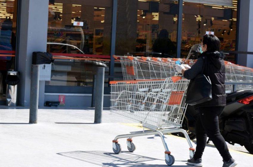Νέο ωράριο για τα καταστήματα τροφίμων με την απαγόρευση κυκλοφορίας
