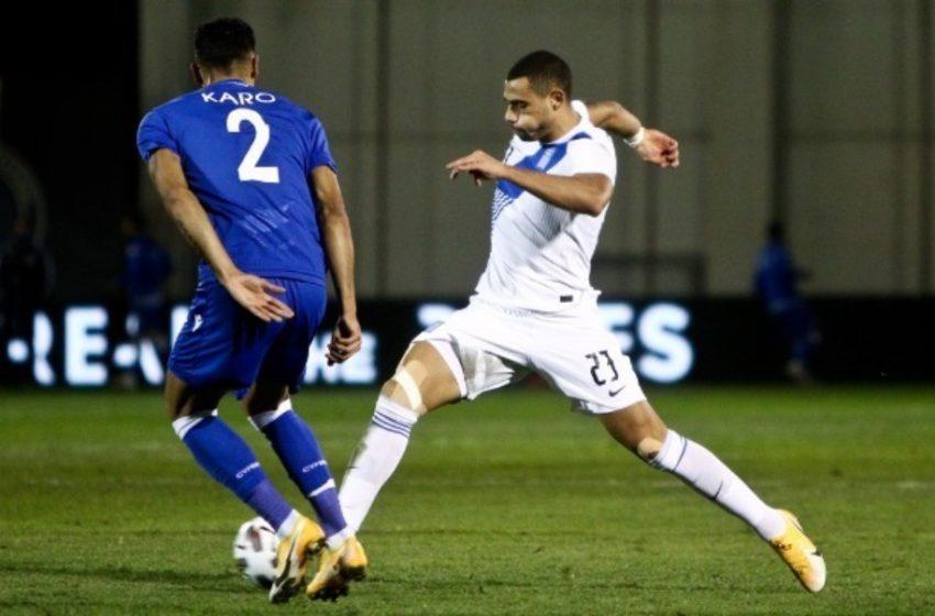 Φιλική νίκη της Εθνικής 2-1 στην Ριζούπολη με την Κύπρο