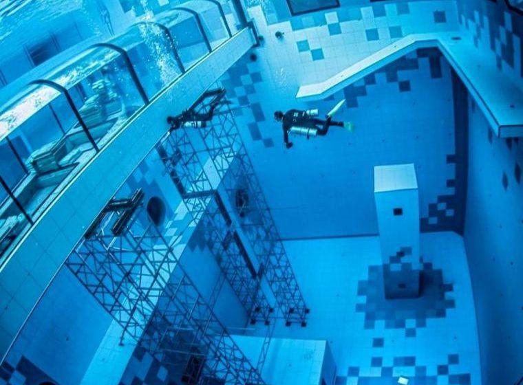 Η πιο βαθιά πισίνα στον κόσμο έχει βάθος 45 μέτρα (pics)