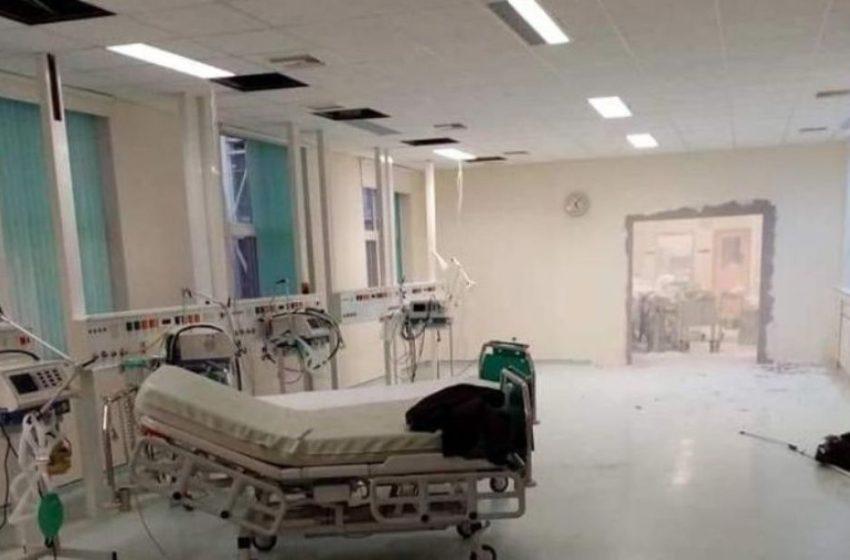Το Γενικό Νοσοκομείο Αλεξανδρούπολης εξηγεί αν γκρεμίζουν τοίχους για να φτιάξουν νέα ΜΕΘ…