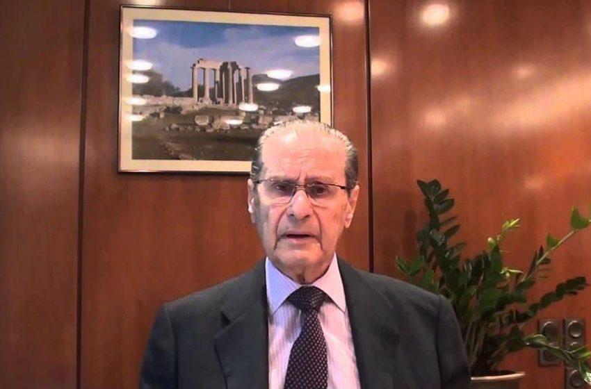 """Θεόδωρος Παπαλεξόπουλος: Πέθανε σε ηλικία 94 ετών ο εμβληματικός πρόεδρος της """"Τιτάν"""""""