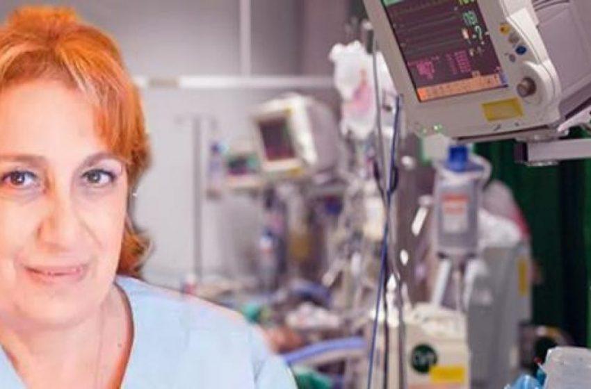 """Κοτανίδου: """"Ο πρώτος στόχος του lockdown είναι η μείωση των εισαγωγών στα νοσοκομεία"""""""