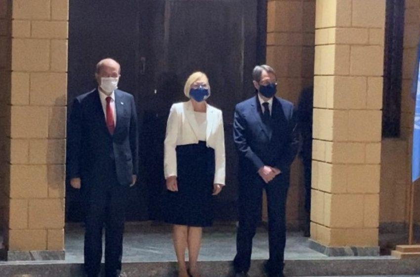 Συνάντηση Αναστασιάδη – Τατάρ: Το θέμα της Αμμοχώστου έθεσε ο Κύπριος πρόεδρος, για τους υδρογονάνθρακες ενδιαφέρθηκε ο ηγέτης των Τουρκοκυπρίων