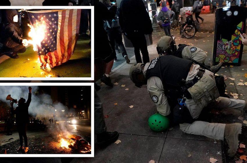 Εκλογές ΗΠΑ: Ο στρατός στο δρόμο – Κίνδυνος γενικής ανάφλεξης, προειδοποιεί το FBI – Υποδαυλίζουν τις ταραχές οι δηλώσεις Τραμπ (vid)