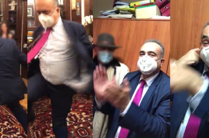 """Πολιτικά """"παρατράγουδα"""" πίσω από το βίντεο του…συνωστισμού στο γραφείο του προέδρου του Δικηγορικού Συλλόγου (vid)"""