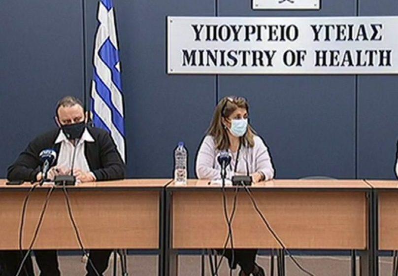 LIVE  H ενημέρωση για τον κοροναϊό από το υπουργείο Υγείας