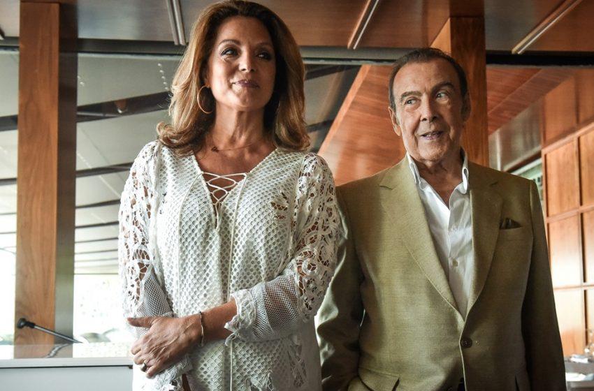 Τόλης Βοσκόπουλος-  Άντζελα Γκερέκου : Η σέλφι με την 19χρονη κόρη τους (pic)