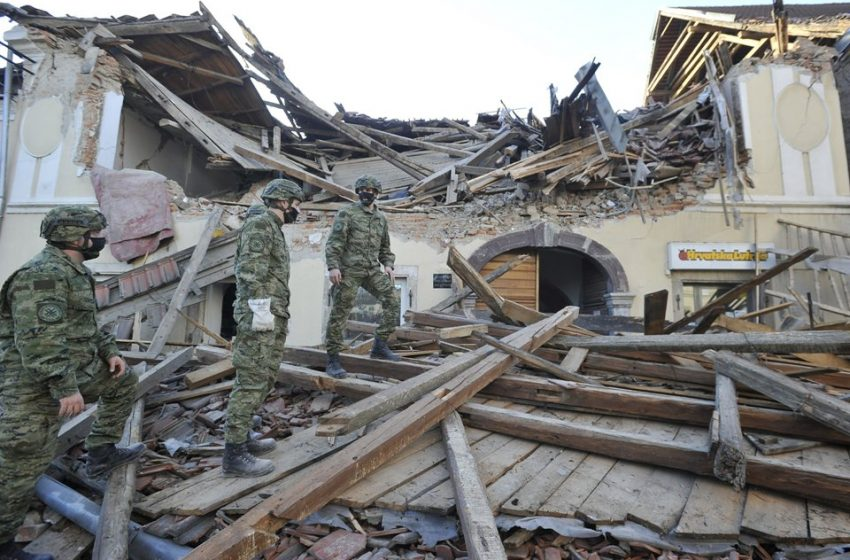 Κροατία: Τουλάχιστον έξι νεκροί από τον σεισμό