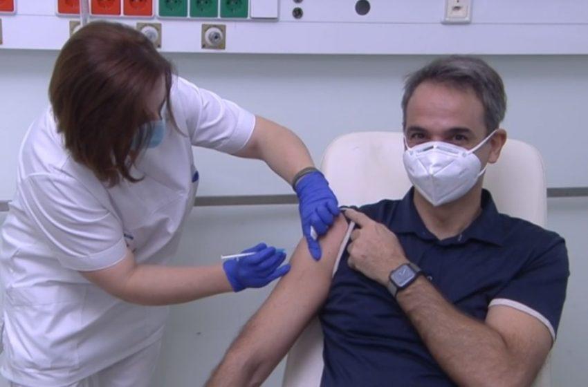 """Κυρ.Μητσοτάκης για το εμβόλιο: """"Ο μόνος τρόπος για να ξαναπάρουμε τη ζωή μας στα χέρια μας"""""""