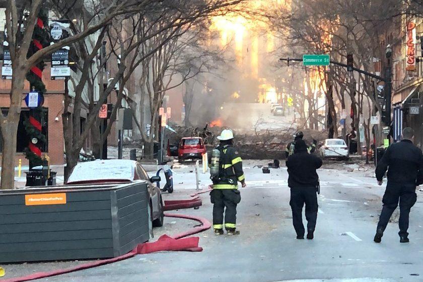 ΗΠΑ: Συναγερμός από έκρηξη στη Νάσβιλ (pics)