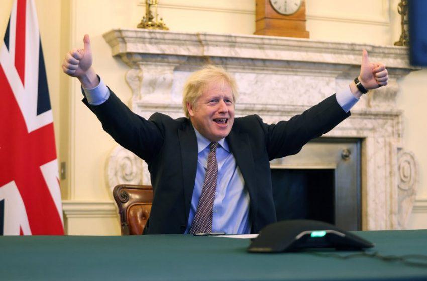 """Πανηγυρισμοί από τον Μπόρις Τζόνσον για το Brexit: """"Η συμφωνία έγινε"""" – """"Παίρνουμε ξανά τον έλεγχο της μοίρας μας"""""""