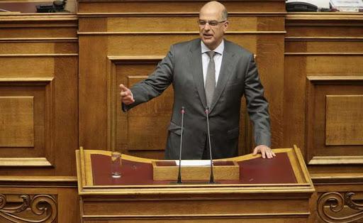 """Ν. Δένδιας: """"Η Ελλάδα διατηρεί το δικαίωμα επέκτασης των χωρικών υδάτων στα 12 νμ και στο Αιγαίο"""""""