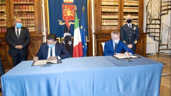 Συμφωνία της Ιταλίας με τη Λιβύη για συνεργασία στον αμυντικό τομέα