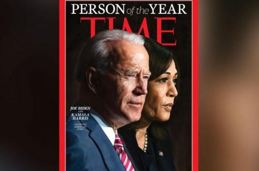 "Time: Μπάιντεν και Χάρις ""οι προσωπικότητες της χρονιάς"""