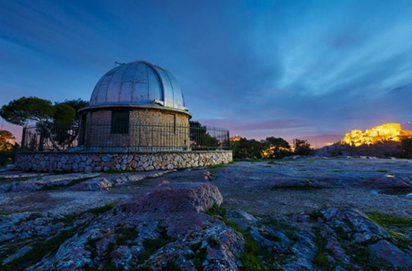 «Αστέρι της Βηθλεέμ» — Το χειμερινό ηλιοστάσιο από το Αστεροσκοπείο Αθηνών