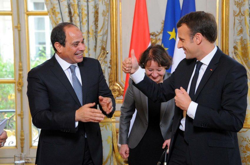"""Ο """"άξονας"""" Γαλλίας – Αιγύπτου προκαλεί εκνευρισμό στην Άγκυρα"""