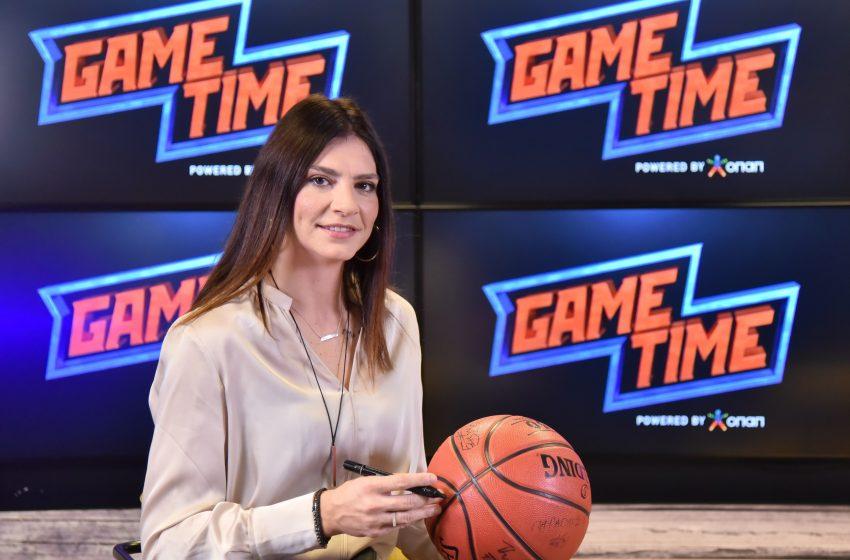 Η Εβίνα Μάλτση στο ΟΠΑΠ Game Time ΜΠΑΣΚΕΤ!