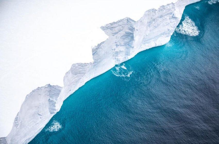 Το μεγαλύτερο παγόβουνο του κόσμου σε τροχιά σύγκρουσης με το νησί των πιγκουίνων (vid)