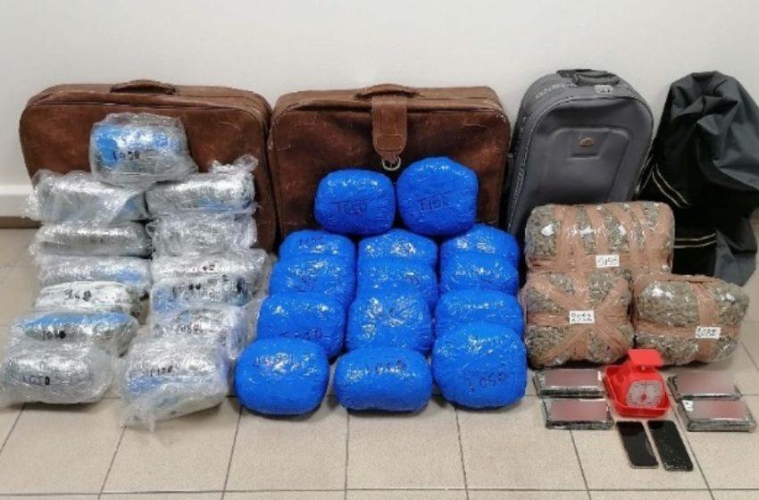 Στα χέρια της ΕΛ.ΑΣ μέλη συμμορίας διεθνούς κυκλώματος που διακινούσαν ναρκωτικά από Τουρκία και Αλβανία
