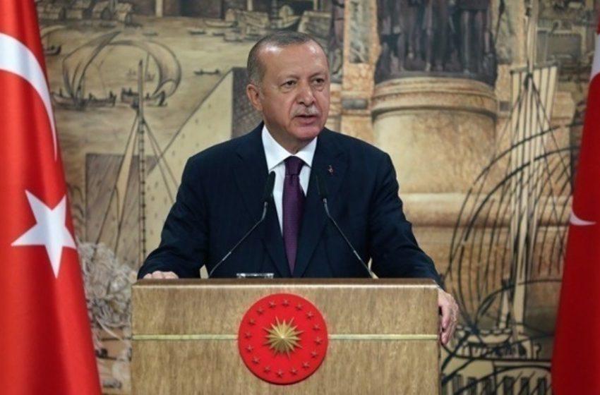 Αναστατωμένος δηλώνει ο Ερντογάν για τις κυρώσεις των ΗΠΑ στην Τουρκία