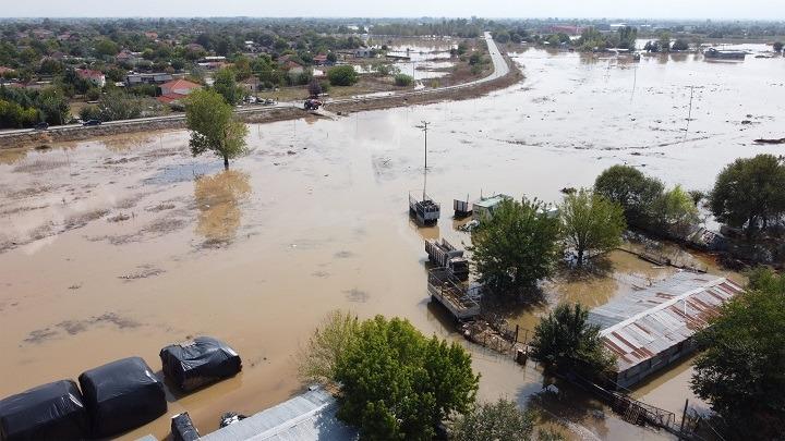 Mεγάλες ζημιές από την κακοκαιρία στην Καρδίτσα