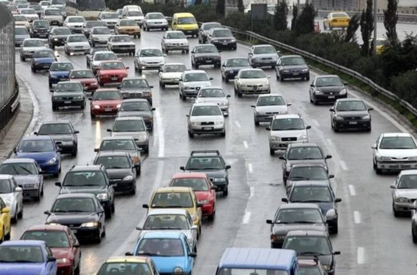 Κυκλοφοριακό έμφραγμα στους δρόμους της Αθήνας