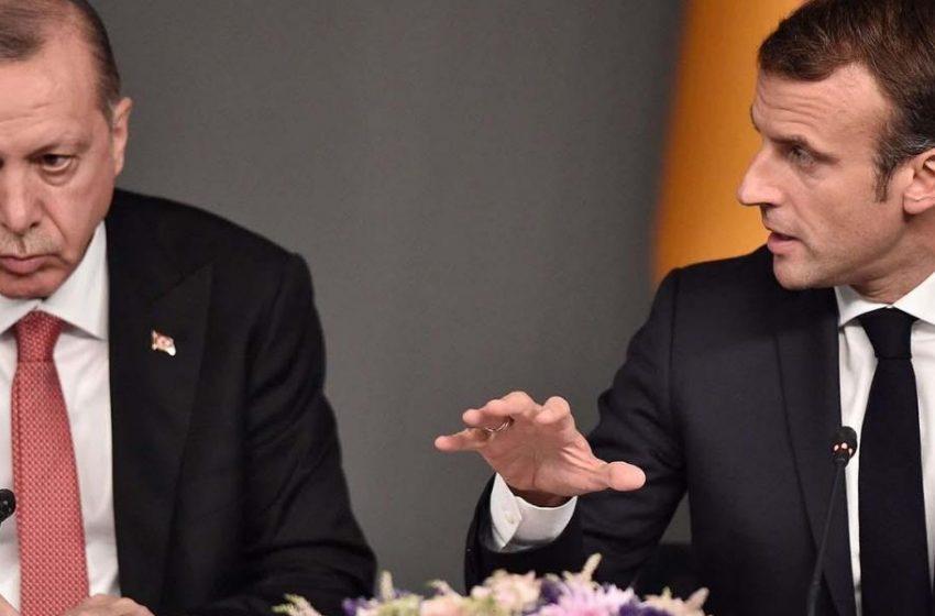 """""""Σεβασμό"""" ζητά ο Μακρόν από τον Ερντογάν"""