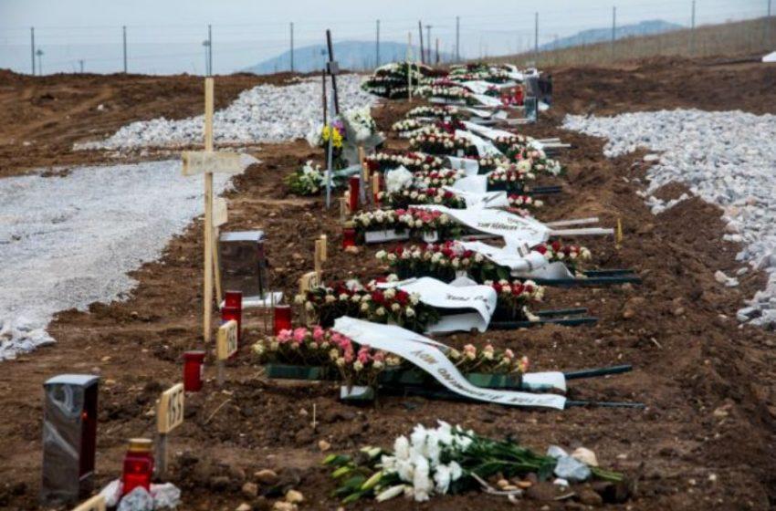 «Αν δεν είχαμε φροντίσει από τον Μάρτιο θα ζούσαμε σκηνές Μπέργκαμο» – Χάος στα νεκροταφεία της Θεσσλονίκης  (pics)