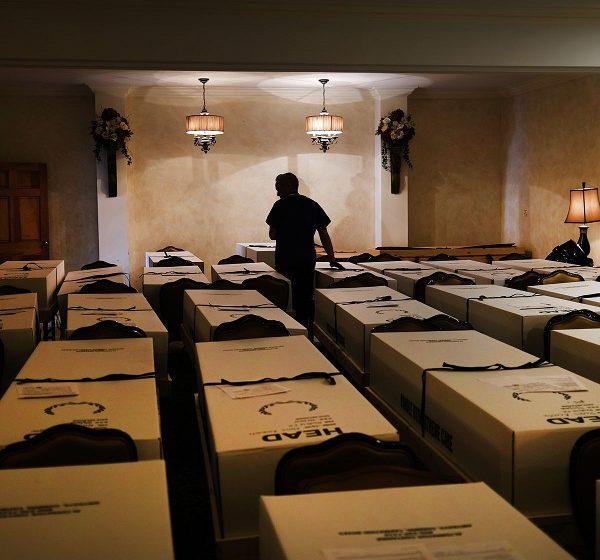 Ανάλυση σοκ από Reuters: Οι νεκροί στις ΗΠΑ θα φθάσουν 3,2 εκατ. το 2020 – Πεθαίνει ένας άνθρωπος ανά 33 δευτερόλεπτα