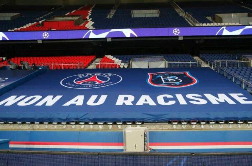 Με μηνύματα κατά του ρατσισμού ξανάρχισε ο αγώνας Παρί-Μπασακσεχίρ (pic)