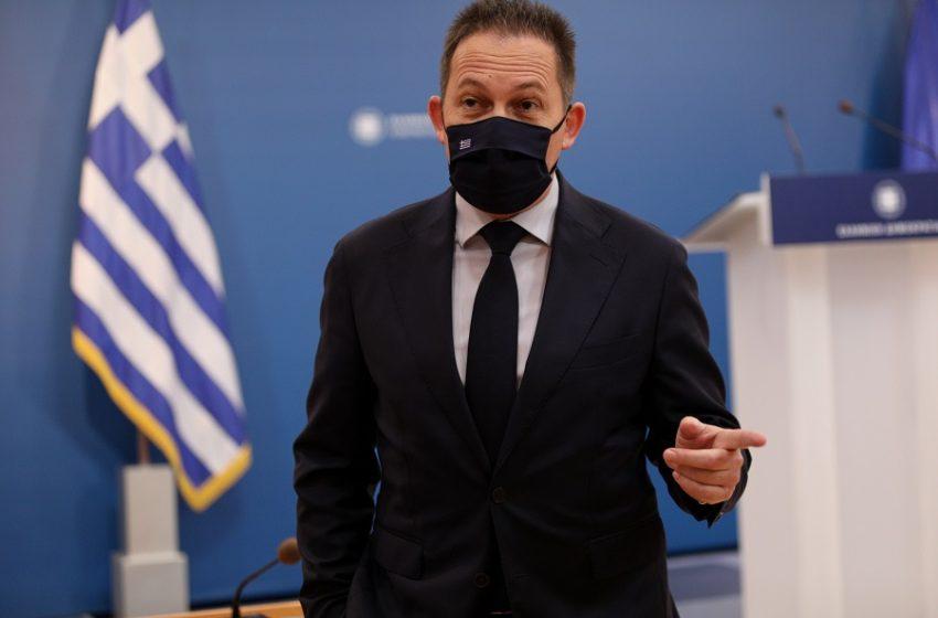"""Πέτσας: Ο κ. Τσίπρας προσπαθεί να """"τσαλαβουτά""""…"""