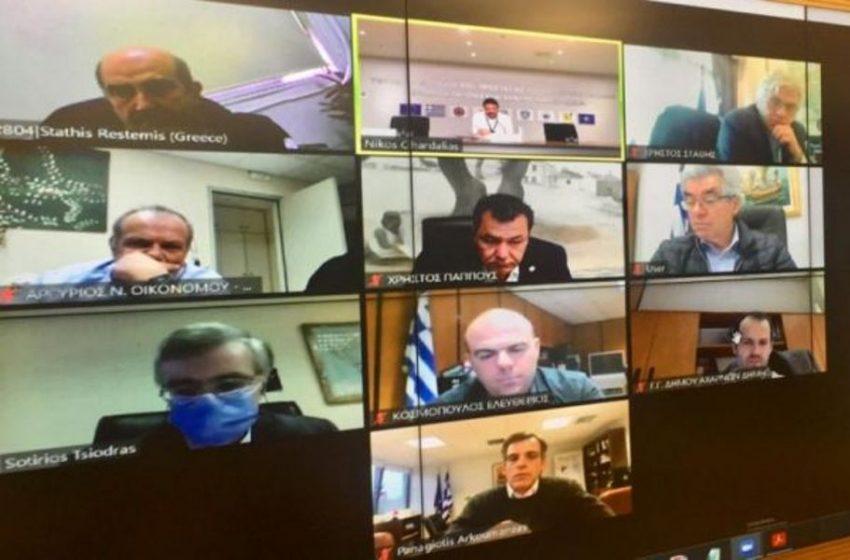 Τηλεδιάσκεψη για την Δυτική Αττική – Ξέφυγε η κατάσταση