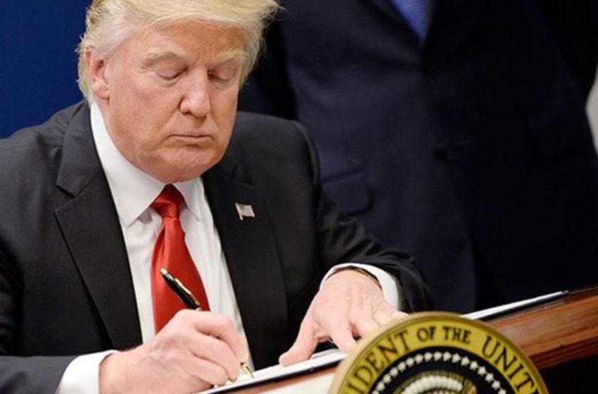 Reuters: Ο Τραμπ υπογράφει τις κυρώσεις κατά της Τουρκίας