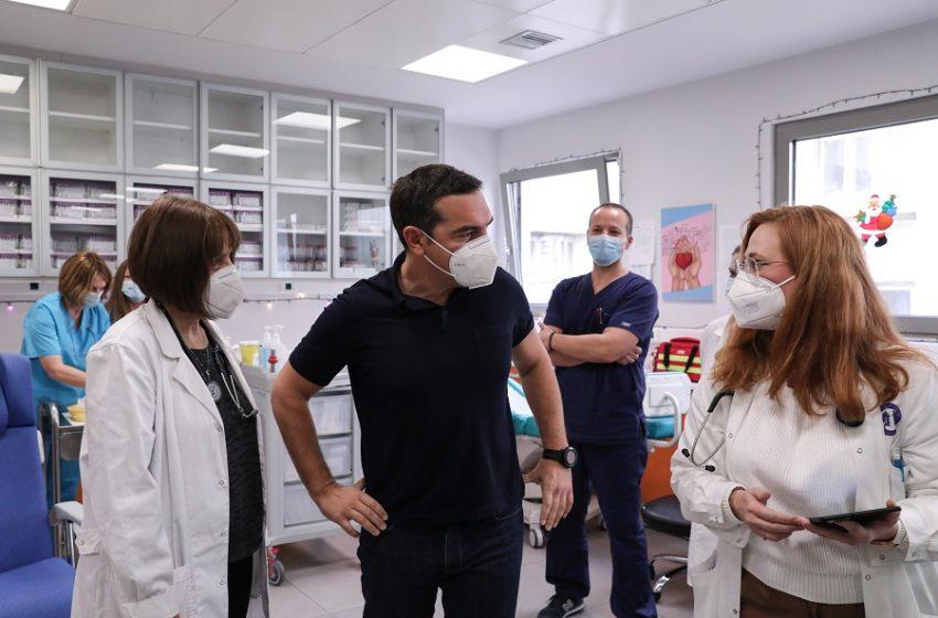 Αλ. Τσίπρας: Οι έλληνες έχουν κάθε λόγο να αισθάνονται ανασφάλεια από την διαχείριση της πανδημίας αλλά όχι απέναντι στο εμβόλιο και τον εμβολιασμό